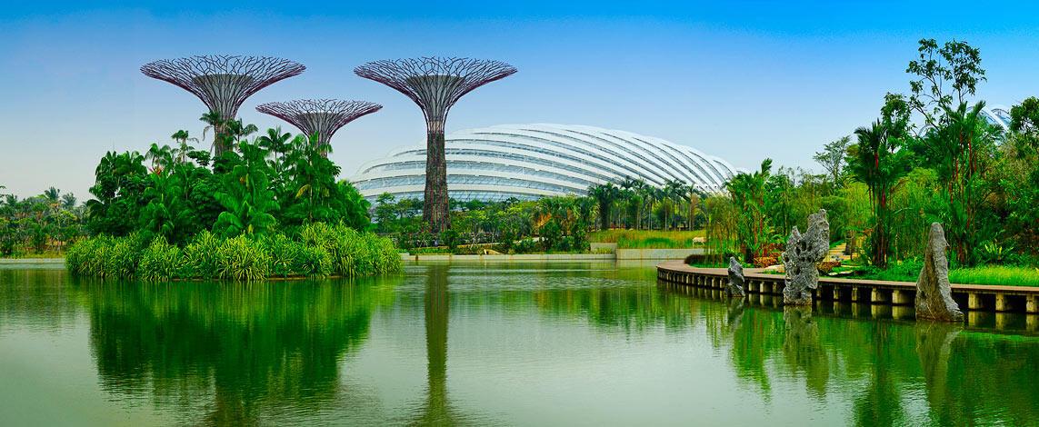 Les jardins du golfe singapour la magie de la nature compatible avec l 39 environnement - Les jardins du golfe porto vecchio ...