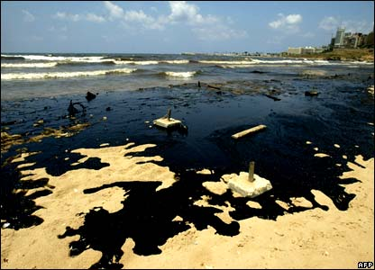 Oil spill in the gulf war